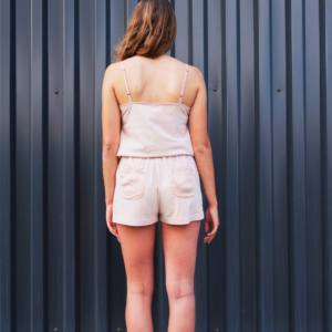 ADA - Silk & Organic Cotton Top