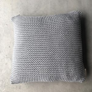 Decorative cushion Bobo - Grey