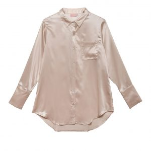 Silk Long Shirt