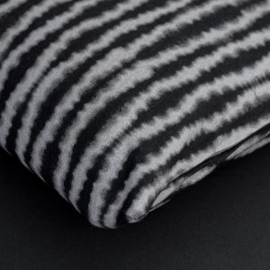 Pillowcase Sea black & kakhi